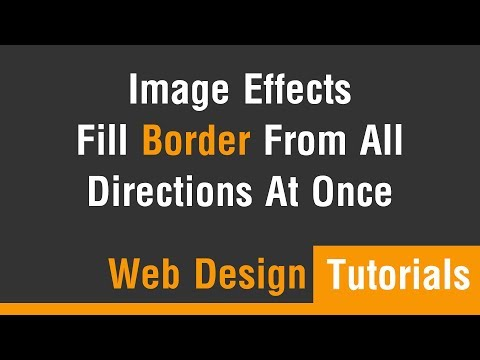 Arabic Tutorials - Image Effect Fill Border From All Direction At Once