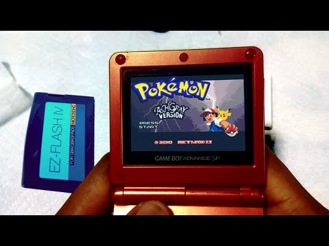 Play Hacked Games and Fan Translations on a REAL GBA [EZ flash IV Indepth review! (2015 version) ]