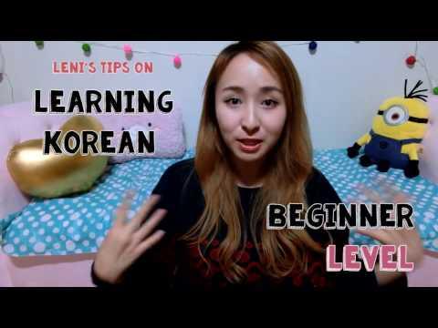 How I Learned Korean | Tips for Beginners