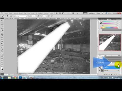 Photoshop Spotlight (sahne ışığı)