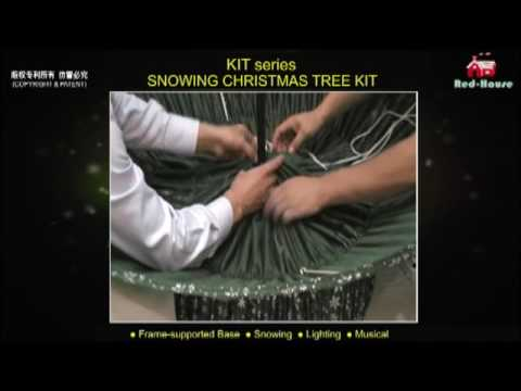How To Flock an Artificial Snowing Christmas Tree