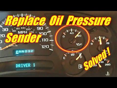 How to Change an Oil Pressure Gauge Sensor Tahoe Suburban 2001-2006 Chevrolet 5.3L