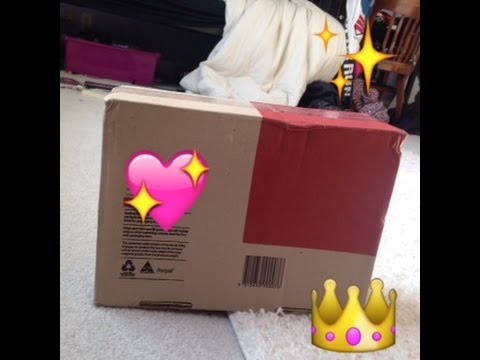 Opening a Package from My Internet Friend!