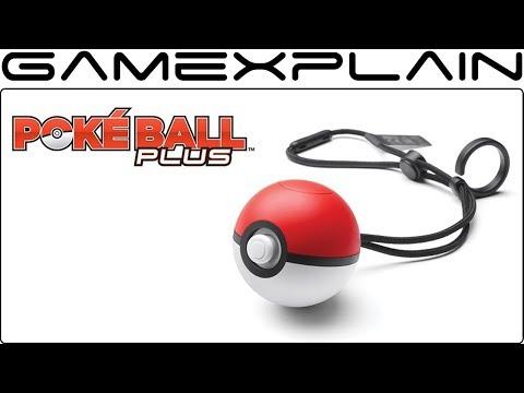 Poké Ball Plus Joy-Con Revealed for Pokémon: Let's Go, Pikachu! & Let's Go, Eevee!