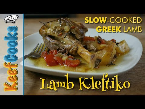 Lamb Kleftiko | Slow-cooked Greek Lamb