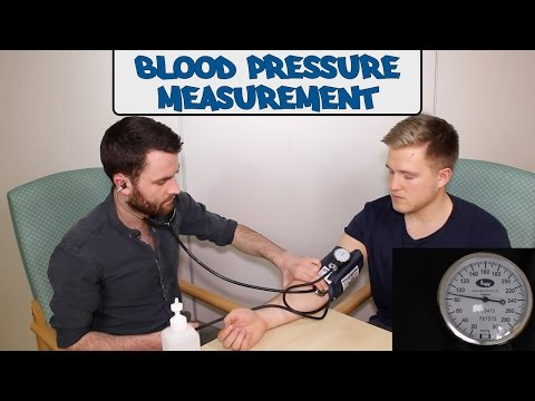 Blood pressure measurement - OSCE guide