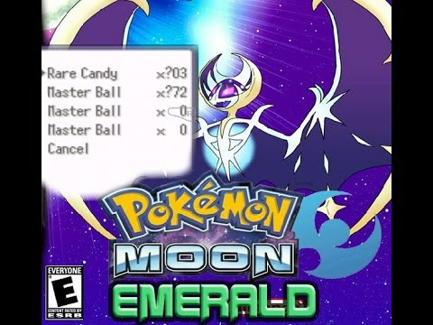 Pokemon moon emerald cheats(walkthroughwalls, shiny etc)
