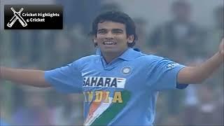 India vs Pakistan 1st odi 2006 Hutch Cup Cricket Highlights