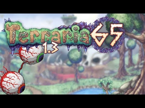 Terraria 1.3 Part 65 - I HATE THE TWINS