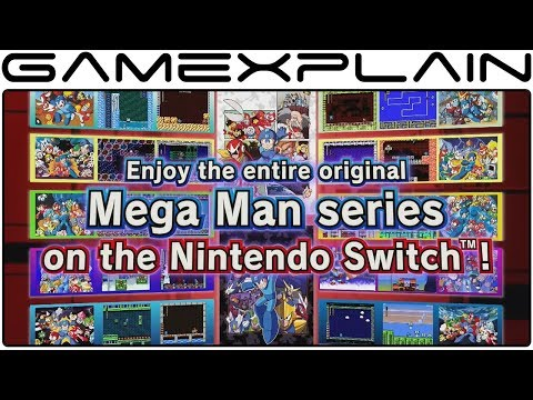 Mega Man Legacy Collection 1 + 2 - Nintendo Switch Announcement Trailer