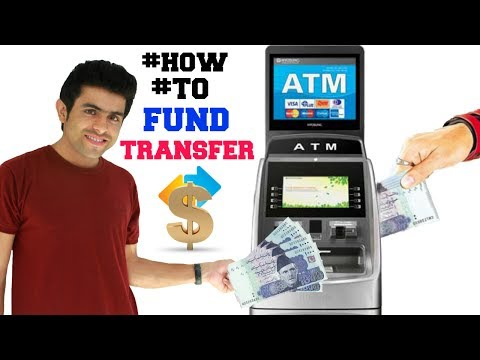 How to fund transfer from ATM very simple