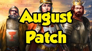 August 2021 patch - New units & balance changes [AoE2]