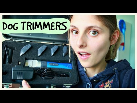 CLIPPING YOUR DOG - MASTER CLIP SHOW MATE DOG TRIMMERS
