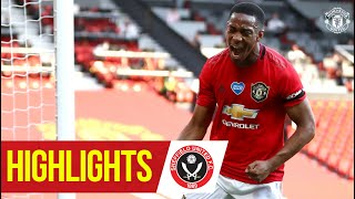 Martial hat-trick seals the win!   Highlights   Manchester United 3-0 Sheffield Utd   Premier League