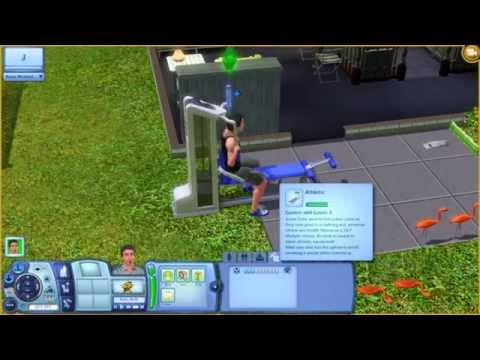 Sims 3 - Athletic Skill Quick and Easy Mastering