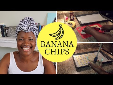 Homemade Banana Chips   SNACK TUESDAY