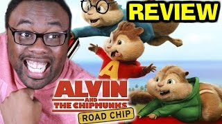 THE CHIPMUNKS ROAD CHIP REVIEW (SPOILERS) : Black Nerd