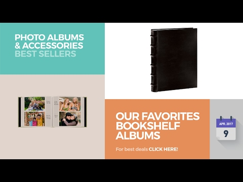 Our Favorites Bookshelf Albums Collection Photo Albums & Accessories Best Sellers