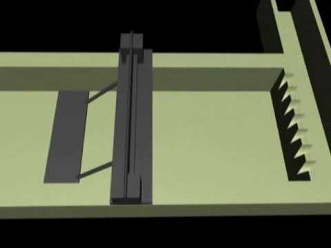 Design of waste water treatment plant animation