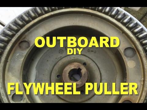 D.I.Y - HOMEMADE OUTBOARD FLYWHEEL PULLER