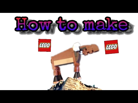 How to make a Lego Moose
