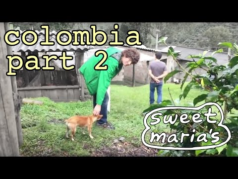 Video Travelogue: Colombia Farm Visits 2016 - PART 2