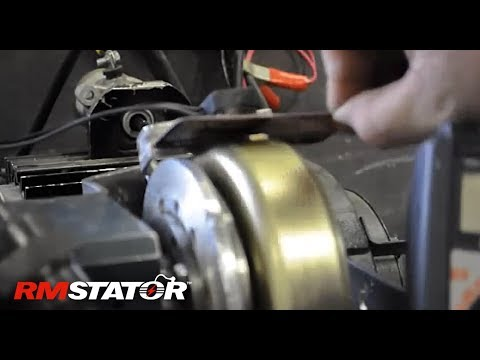 How to test and gap a stator pick up pulsar coil / pickup pulser coil / trigger coil / pick-up coil