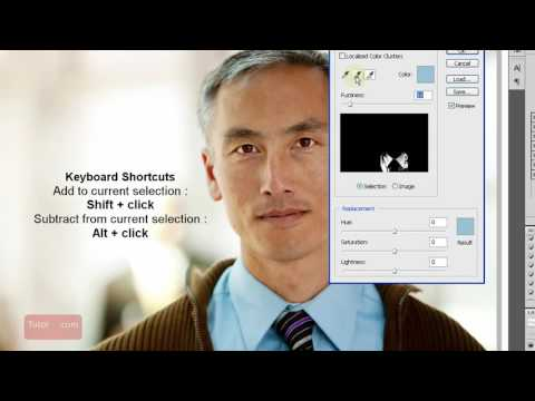 Photoshop CS4 Tutorial  How to Replace a Color Beginner