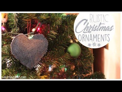 DIY Keepsake Ornaments | EASY | Whitney Sews