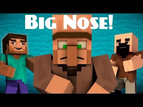 Why Villagers Have Big Noses - Minecraft