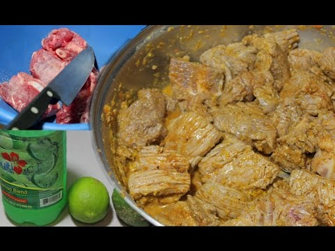 How To Clean And Marinate Beef The Haitian Way