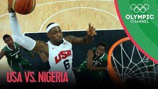 USA v Nigeria - USA Break Olympic Points Record - Men