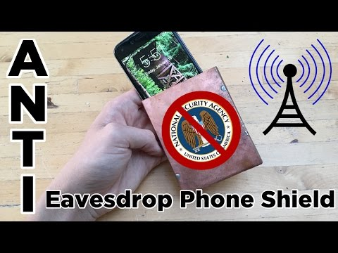Ben Builds: DIY Anti Eavesdrop Phone Faraday Cage