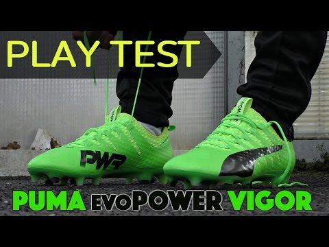 TESTING Puma evoPOWER Vigor Boots | #PlayLoud #choosePOWER