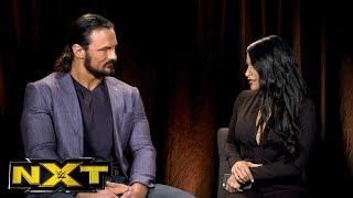 "Zelina Vega claims NXT Champion Drew McIntyre is ducking Andrade ""Cien"" Almas: WWE NXT, Oct 18, 2017"