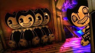 HACKING TO NEW SECRETS IN CHAPTER 2!! - Bendy and The Ink Machine Chapter 3 Update