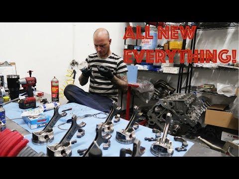 LS2 STROKER V8 DRIFT ENGINE (SHORT BLOCK)