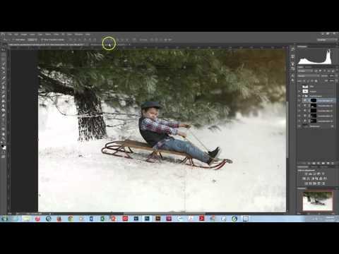 Winter Wonderland Editing Video Tutorial