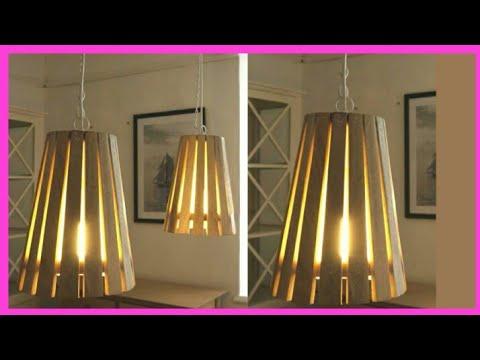DIY Cardboard lamp/cardboard lamp shade making/hanging lamp/paper lamp/pendant lamp/artmypassion29