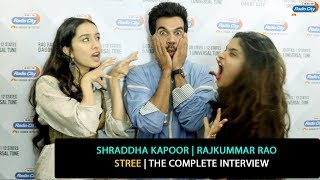 Shraddha Kapoor and Rajkummar Rao | The Complete Interview | Stree