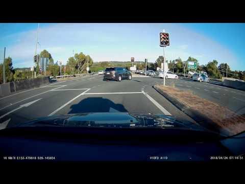 Gold Coast Bad Driver - (732 XKS) Running Red Light Tugun