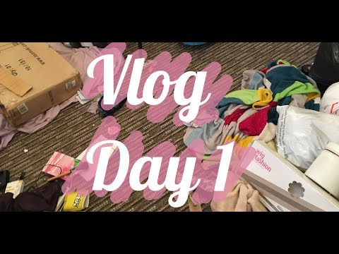 Moving Vlog: Day 1 Phineas and Ferb😂