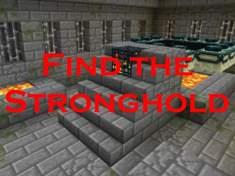 ✔ Minecraft: How to find the stronghold