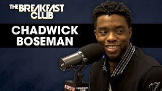 Chadwick Boseman Talks Black Panther, Turning Down Famous Biopics, Marvel Myths + More