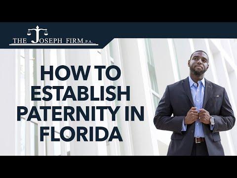 How to Establish Paternity in Florida