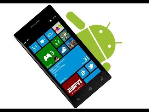 Apps de Android corriendo en Windows 10 Mobile (Build 10240)