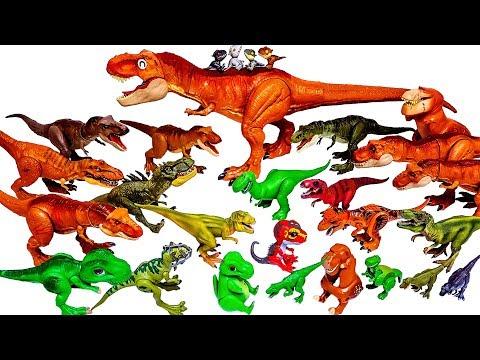 Xxx Mp4 엄청나게 많은 티라노사우루스 티렉스 공룡 쥬라기월드 슐라이히 블럭 장난감 총출동 3gp Sex