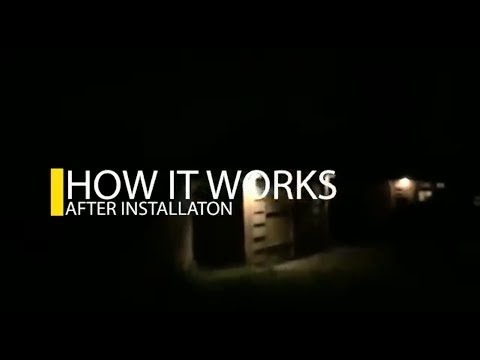 Solar Light Systems for Beginners 2018 | 👨🏾🔧how to Install and 💡how it works (with sensors)