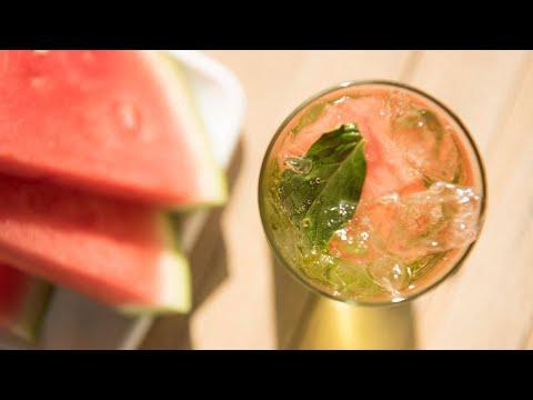 Lara Spencer's Cucumber-Watermelon Mojito Cocktail