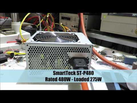 Low-cost ATX Power Supply Fail - Crash Test